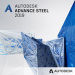 advance steel 2019 badge 150ppx