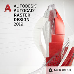 autocad raster design 2019 badge