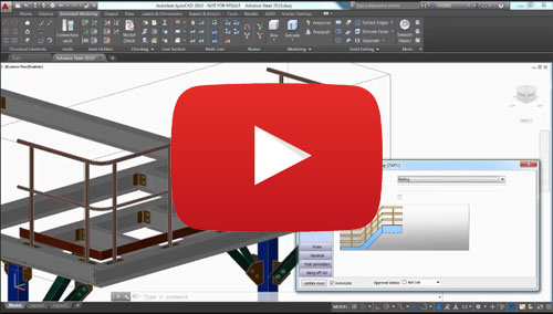 advance steel overview video autodesk