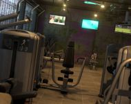 interior industrial gym visualisation lg