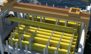 Stena Drillslim Oil Ship Animation