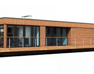 exterior 3d visual modern lodge lg