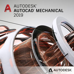 autocad mechanical 2019 badge 256ppx opt
