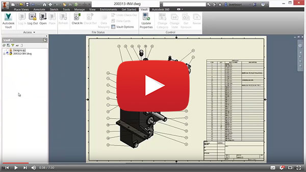 Vault Best in Class Cad Integration Video