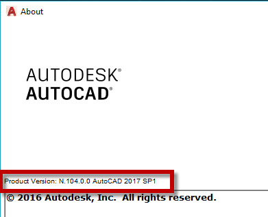 AutoCAD 2017 + Verticals Service Pack 1